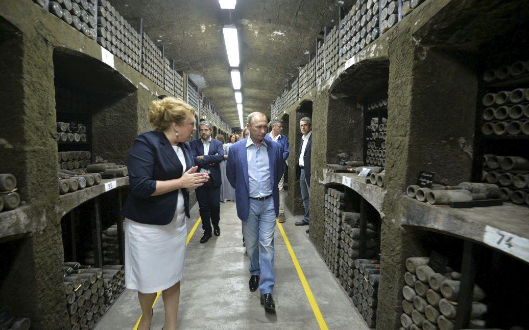 Путин и Берлускони провели уикенд в Крыму / © Reuters
