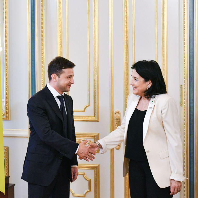 Президентка Грузії 23 червня відвідає Україну і зустрінеться із Зеленським