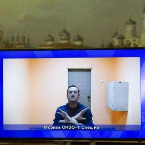 """""""Можете взять меня в наручники, но это не будет длиться вечно"""": Навальный эмоционально выступил в суде"""